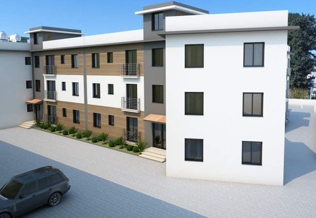Well Located New Build Apartments in Northern Cyprus Kyrenia