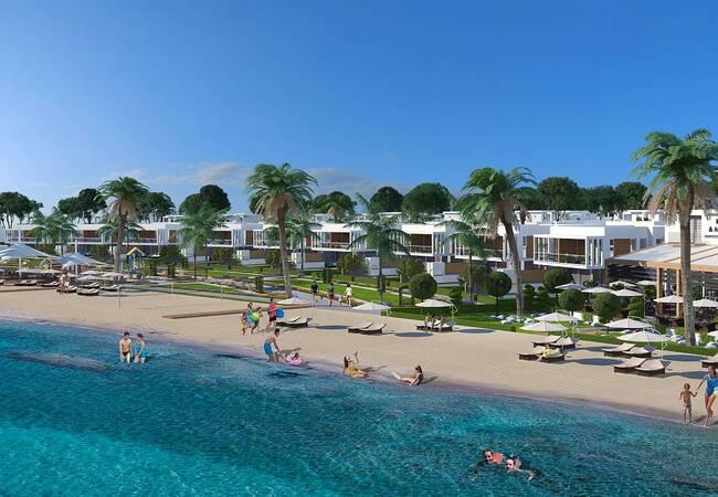 Seaside Villas with Outdoor Pools in North Cyrus Iskele