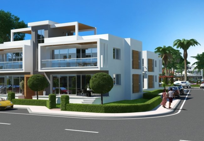 Modern Apartments Close to Beach in Iskele North Cyprus
