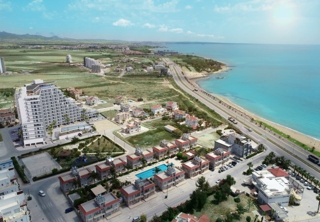 Investment Apartments Close to the Beach in North Cyprus