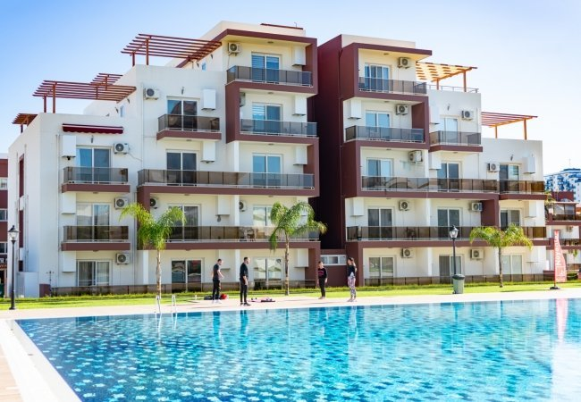 Apartments Close to the Beaches in North Cyprus Iskele