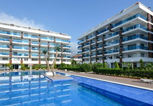 Luxury Apartments 200 Mt to the Beach in Kestel Alanya