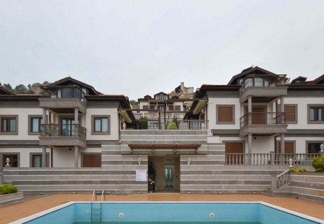 Authentic Houses with Fantastic Sea View in Alanya