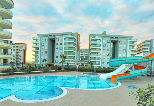Modern Flats for Sale with Roomy Living Spaces in Alanya