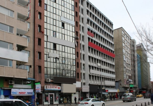 Office in Ankara Ulus Overlooking the Main Road in Ulus