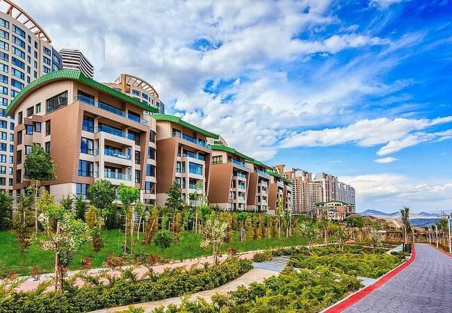 Valley and City View Properties with Bazaar in Ankara