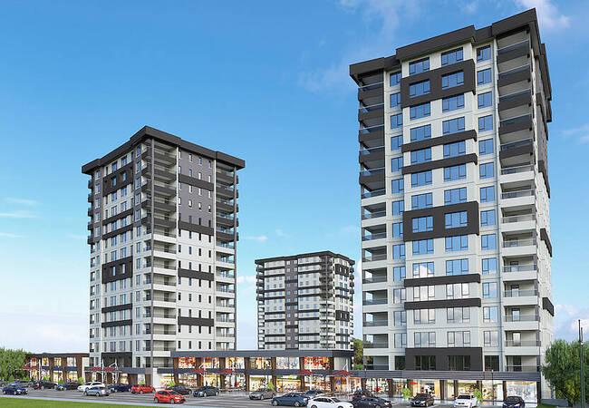 Brand New Flats in a Spacious Complex in Ankara çakırlar