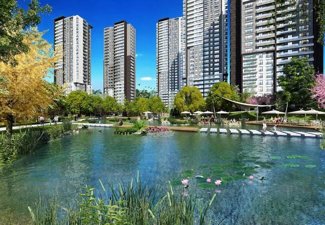 Luxury Flats in a Unique Landscaped Complex in Incek, Ankara