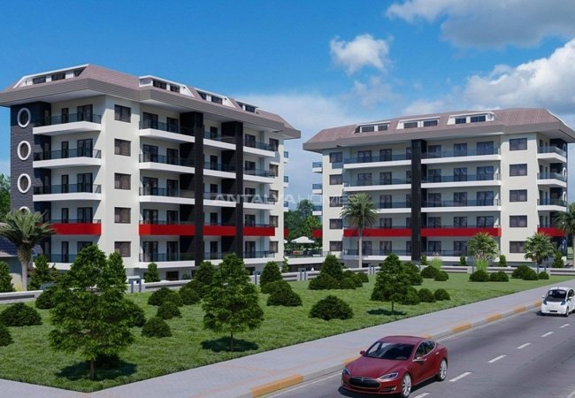 Central Flats with Luxurious Facilities in Kestel Alanya