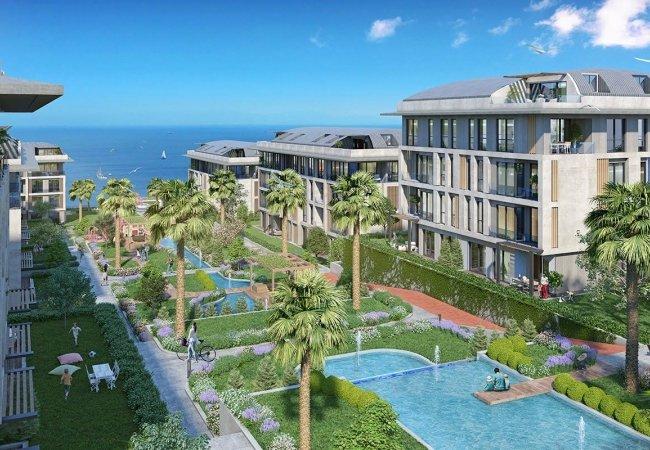 Breathtaking Sea View Properties in Beylikdüzü Istanbul