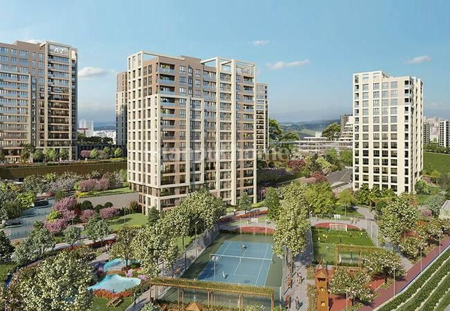 Квартиры с Необычным и Современным Дизайном в Башакшехир