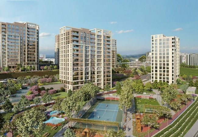 Flats for Sale in a Huge Complex Consisting of 3 Stages in Basaksehir