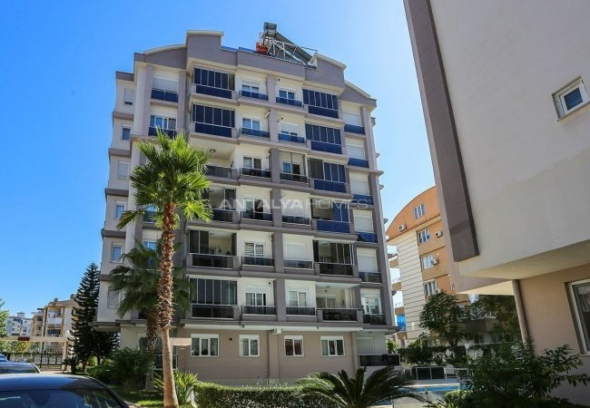 Ready to Move 3+1 Apartment with Natural Gas in Lara Antalya