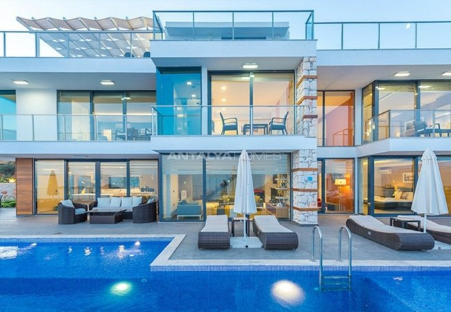 Luxury Villas with Panoramic Sea and Nature Views in Kalkan