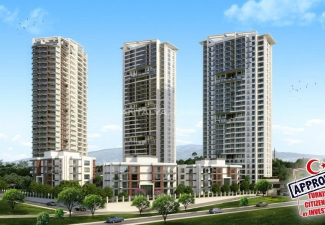 Well-designed Apartments with Ready Title Deed in Istanbul Kartal