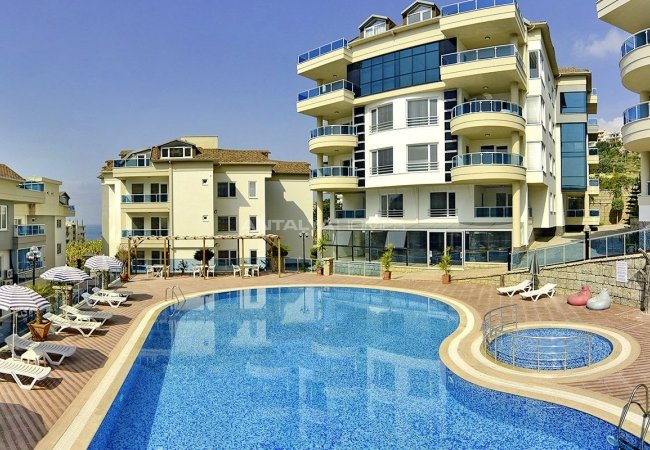 Turnkey Properties with Castle and Sea View in Alanya