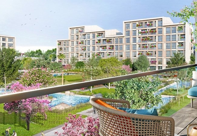 Low-rise Apartments with Rich Complex Features in İstanbul