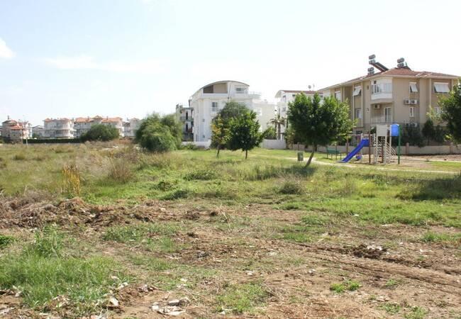 Improved Antalya Land in Belek Center for Sale