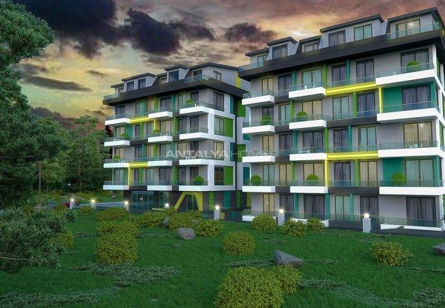 Luxury Apartments in Mahmutlar Alanya Near the Beach