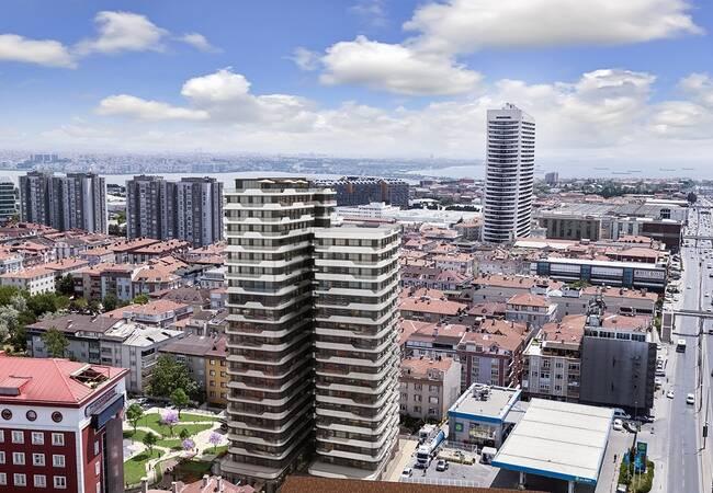 Investitionsmöglichkeit Wohnungen In Der Krone Von Istanbul Avcılar