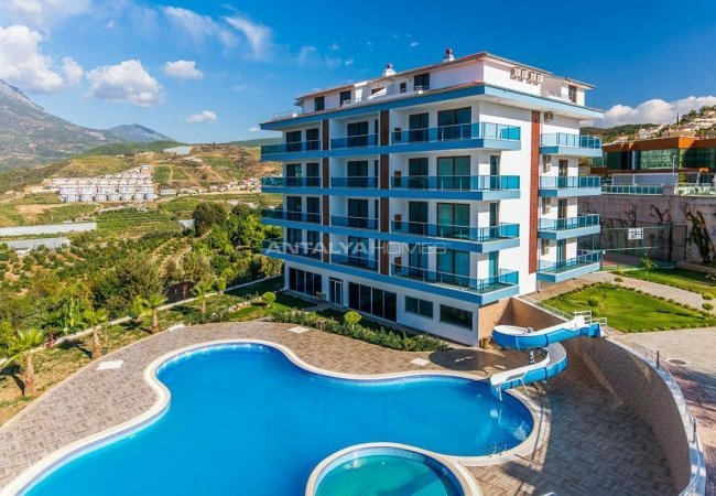 Sea and Nature View Luxury Apartments in Alanya