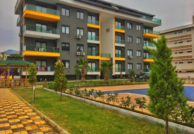 New Alanya Apartments Walking Distance to Private School