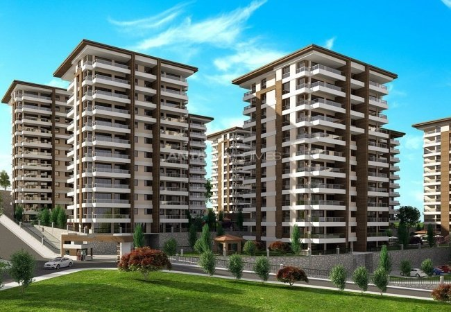 Investment Flats with Family-concept in Akçaabat Trabzon