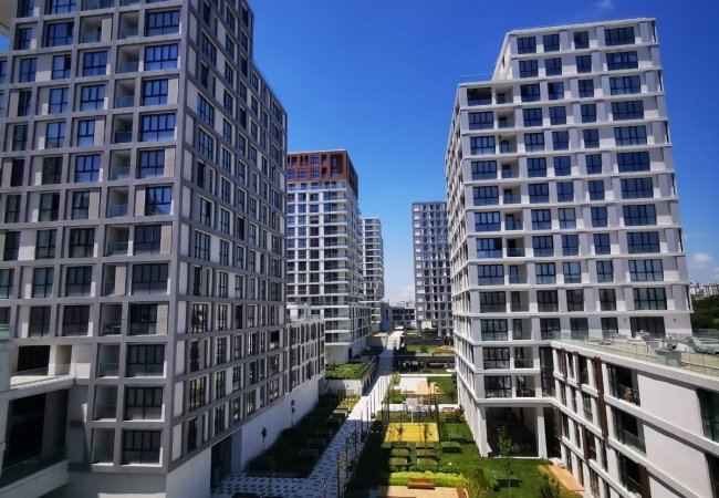 Apartments in Bahcesehir Istanbul with Modern Design