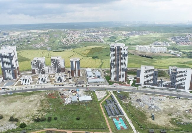 Luxury Basaksehir Apartments Close to Istanbul Canal