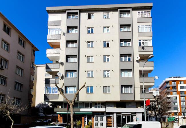 Квартира Рядом с Торговыми Центрами в Районе Кадыкёй
