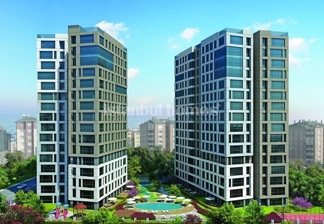 Элитная Недвижимость в Центре Малтепе в Стамбуле