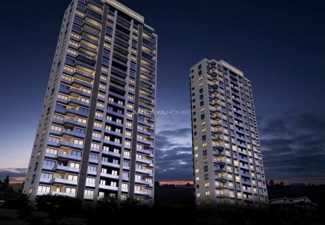 Modern Flats with On-site Social Amenities in Istanbul
