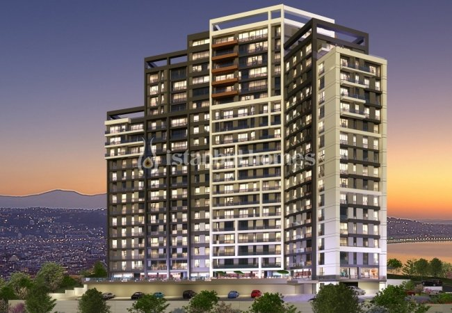 Princes' Islands View Real Estate in a Complex in Kartal