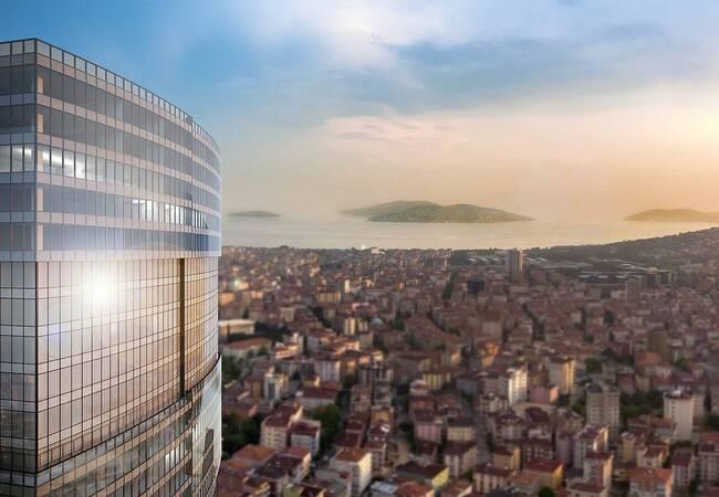 Modern Sea View Commercial Properties in Istanbul Maltepe