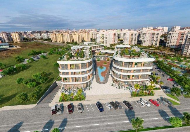 Sea View Properties in a Complex in Beylikduzu