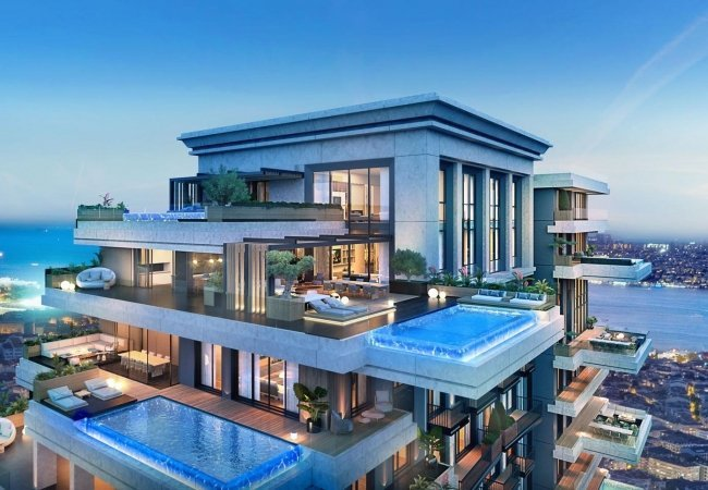 Ultra Luxury Design Apartments in Sisli with Private Pool