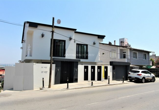 Furnished Detached-villa with City View in Tuzla Istanbul
