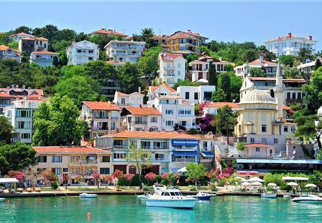 Квартира с Видом на Море в Стамбуле на Принцевых Островах