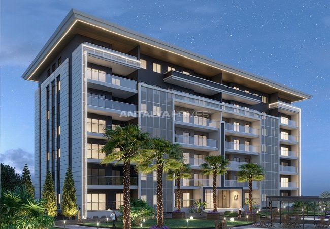 New Apartments in Istanbul Kucukcekmece in a Secure Complex