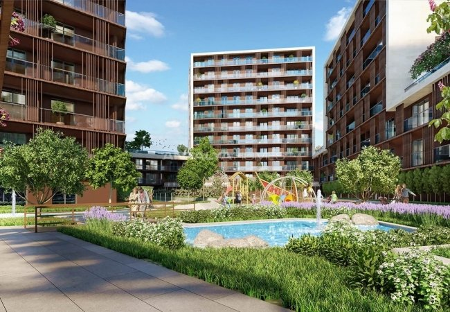 Well-located Luxurious Apartments in Istanbul Topkapı