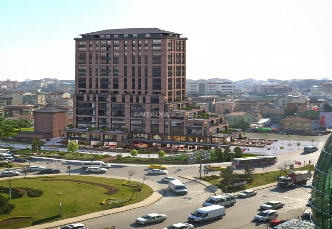 Flats with Easy Reach to Transportation in Istanbul Atasehir