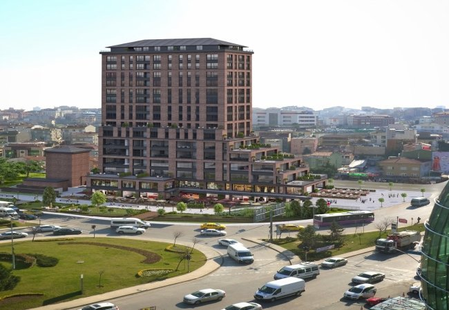 Well Located Offices and Shops in İstanbul Atasehir