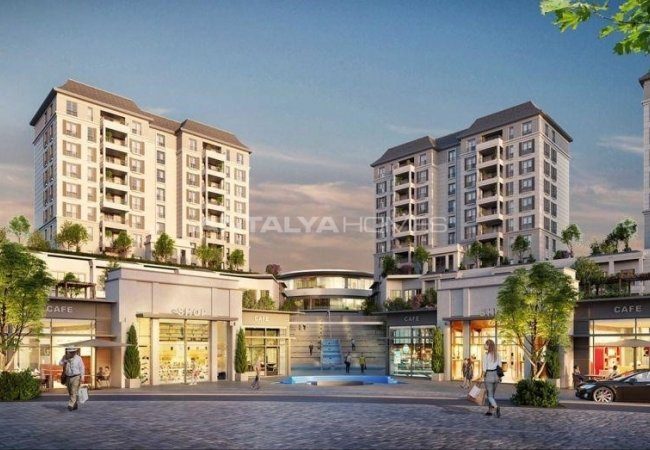 Luxurious Apartments in Istanbul Basaksehir Near the Subway