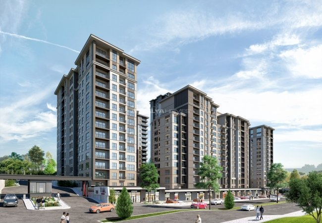 Investment Apartments Near Highways in Istanbul Avcilar