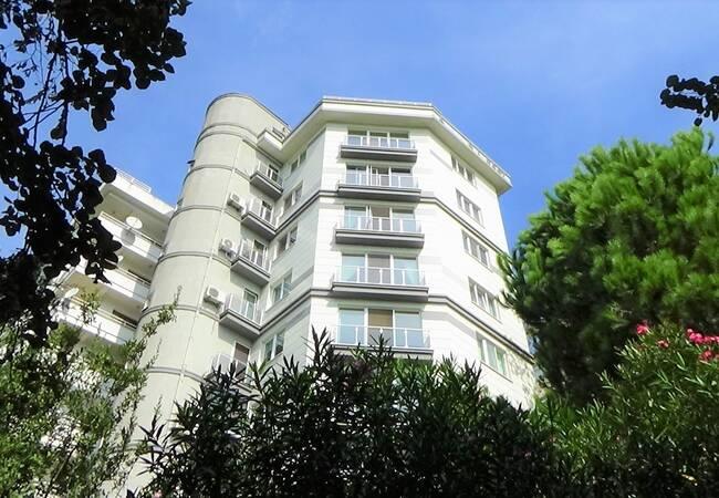 Furnished Duplex with Ihlamur Pavillion View in Besiktas Istanbul