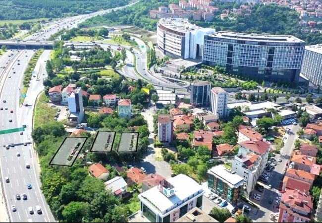 Investment Lands for Sale Close to the Highway in Beykoz