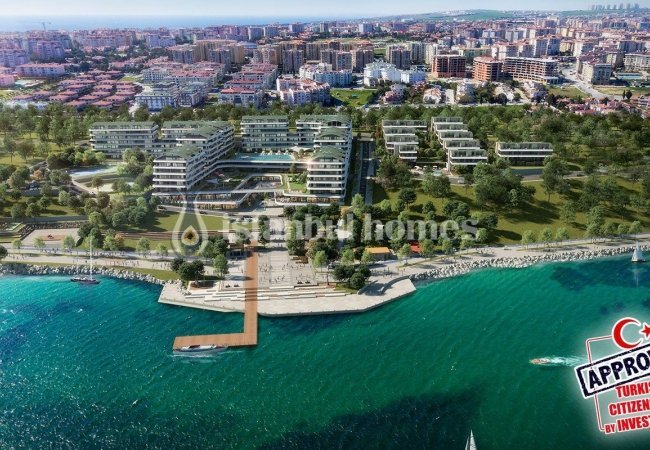 Istanbul Apartments in a Groundbreaking Seaside Complex