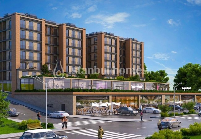 Brand New Investment Apartments in a Developing Area in Arnavutköy