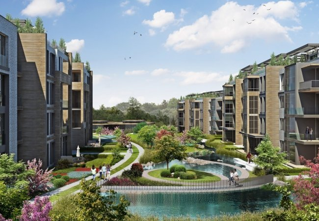 Luxury Properties Close to the City and Forest in Beykoz