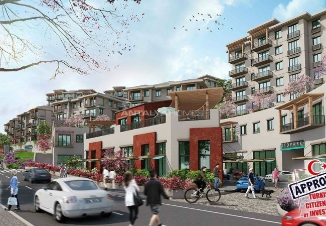Investment Apartments Close to the Shopping Mall in Istanbul
